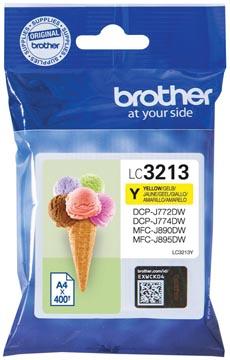 Brother inktcartridge, 400 pagina's, OEM LC-3213Y, geel