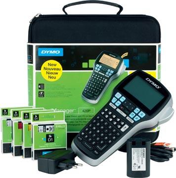 Dymo beletteringsysteem LabelManager 420P met transportkoffer