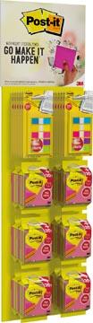 Mobile Display 2021 Post-it® Note Cube Neon 76mmx76mm 20%GRAT + Post-it® Index Smal 12x43mm 3+2 GRAT