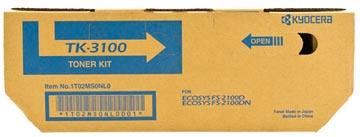 Kyocera Toner Kit TK3100 - 12500 pagina's - 1T02MS0NL0