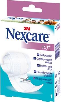 3M pansement Nexcare Soft Pansement, ft 8 cm x 1 m, à découper