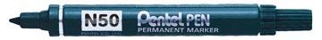 Pentel marqueur permanent Pen N50 bleu