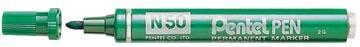 Pentel marqueur permanent Pen N50 vert