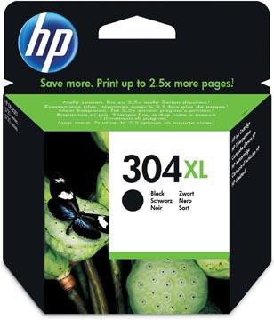 HP inktcartridge 304XL, 300 pagina's, OEM N9K08AE, zwart