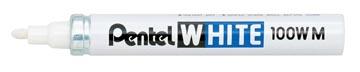 Pentel Paint Marker White schrijfpunt: 3,9 mm, schrijfbreedte: 3 mm