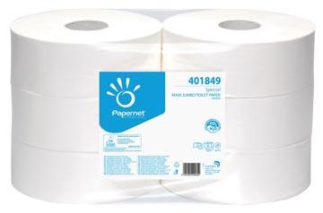 Papernet toiletpapier Special Maxi Jumbo, 2-laags, 1180 vellen, pak van 6 rollen