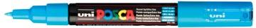 uni-ball Paint Marker op waterbasis Posca PC-1MC lichtblauw
