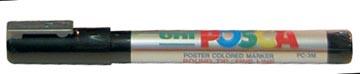 uni-ball Paint Marker op waterbasis Posca PC-5M zilver