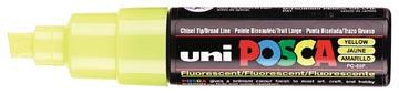 uni-ball Paint Marker op waterbasis Posca PC-8K fluo geel