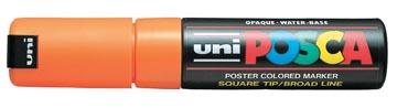uni-ball Paint Marker op waterbasis Posca PC-8K fluo oranje
