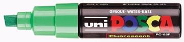 uni-ball Marqueur peinture à l'eau Posca PC-8K vert fluo