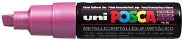 uni-ball Marqueur peinture à l'eau Posca PC-8K rose métal