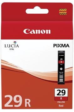 Canon cartouche d'encre PGI-29R, 2.370 pages, OEM 4878B001, rouge