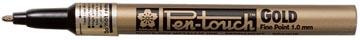 Sakura paint Marker Pen-Touch punt van 1 mm, goud