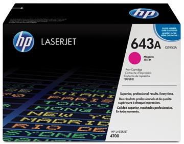 HP toner 643A, 10 000 pages, OEM Q5953A, magenta