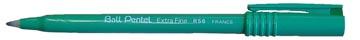 Pentel Roller Ball R50/R56 vert, écriture fine