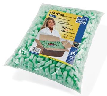 Tidypac isomovulling, groen, pak van 15 liter