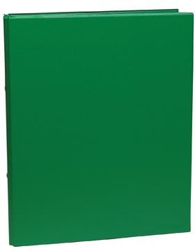classeur pour ft A4, 2 anneaux de 25 mm, en PVC, vert