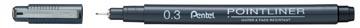 Pentel fineliner Pointliner SP20, noir, 0,30 mm