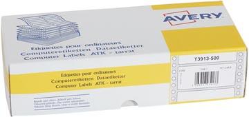Avery étiquettes ordinateur blanches ft 107 x 48,8 mm (l x h), 3.000 pièces