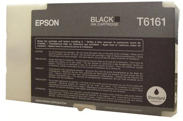 Epson inktcartridge T6161, 3.000 pagina's, OEM C13T616100, zwart