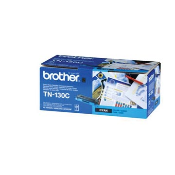 Brother toner, 1.500 pages, OEM TN-130C, cyan