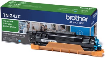 Brother toner, 1.000 pages, OEM TN-243C, cyan