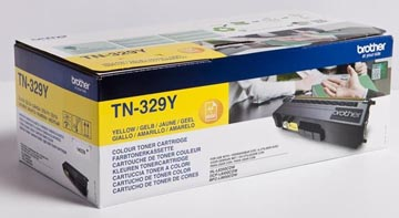 Brother toner, 6.000 pagina's, OEM TN-329Y, geel