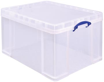 Really Useful Box 145 liter, transparant, per stuk verpakt in karton