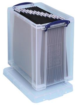Really Useful Box opbergdoos 25 liter, transparant