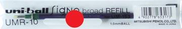 Uni vullingen voor Signo Broad rood