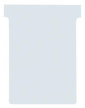 Nobo fiches T indice 1, ft 49 x 28 mm, blanc