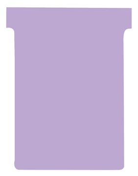 Nobo fiches T indice 3, ft 120 x 92 mm, violet