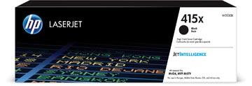 HP toner 415X, 7.500 pages, OEM W2030X, noir