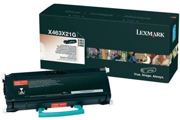 Lexmark Toner zwart Project - 15000 pagina's - X463X31G