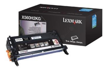Lexmark Cartouche toner noir - 10000 pages - X560H2KG