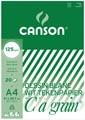 Canson bloc de dessin C à grain 125 g/m², ft 21 x 29,7 cm (A4)