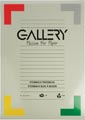 Gallery bloc de dessin 200 g/m², Steinbach grainé, 20 feuilles, ft 29,7 x 42 cm (A3)
