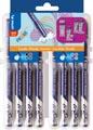 Pilot fineliner Frixion, geassorteerde kleuren, set van 8 stuks