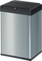 Hailo afvalbox Bigbox Swing L, 35 liter, zilver
