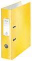Leitz WOW ordner geel, rug van 8,0 cm