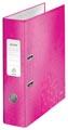 Leitz WOW ordner roze, rug van 8,0 cm