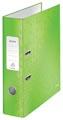 Leitz WOW ordner groen, rug van 8,0 cm