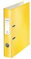 Leitz WOW ordner geel, rug van 5,2 cm
