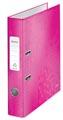 Leitz WOW ordner roze, rug van 5,2 cm