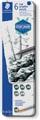 Staedtler crayon de graphite Mars Lumograph, boîte métallique avec 6 graduations