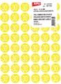 Agipa Etiquettes remises -30%, jaune, paquet de 192 pièces, amovible