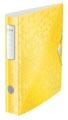Leitz WOW ordner Active rug van 6,5 cm, geel