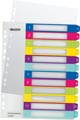 Leitz WOW printbare index, 12 tabs