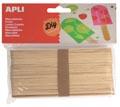 Apli jumbo houten sticks, blister met 40 stuks